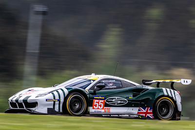 Car #55Spirit of Race Team, Ferrari, M. Griffin, D. Perel during qualifying for the 4h of the Red Bull Ring