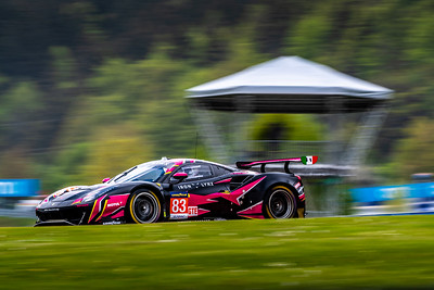 Car #83 R. Frey, M. Gatting, M. Gosner, Iron Lynx Team,  Qualifying for the 4 Hours of the Red Bull Ring
