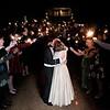 Dramatic Wedding Exit