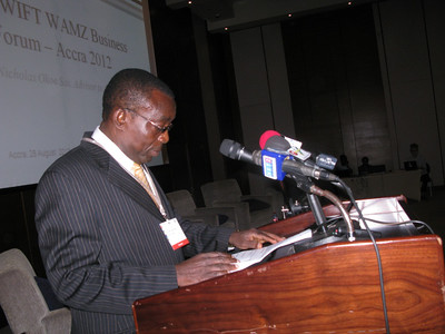 SWIFT West African Monetary Zone Business Forum 2012 (Accra, Ghana)
