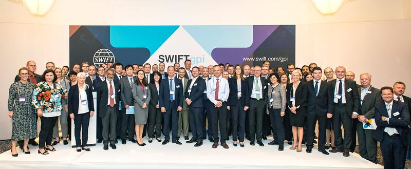 SWIFT gpi event Frankfurt 2017
