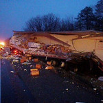 RYAN TOWNSHIP MM 125 INTERSTATE 81 MULTIPLE TRACTOR TRAILER ACCIDENT 3-16-2011 PICTURES AND VIDEOS BY COALREGIONFIRE