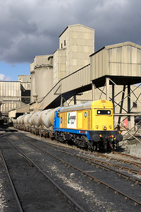 20168 loading cement PCA's at Hope cement works on 16/09/2005.