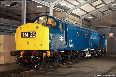 40145 at Barrow Hill on 23/02/2006.