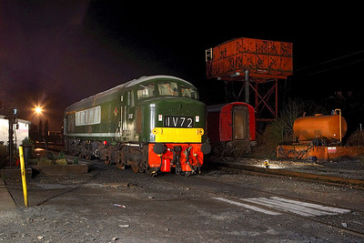 D182 (46045) on shed at Butterley during an EMRPS Photo Charter on 03/02/2007.