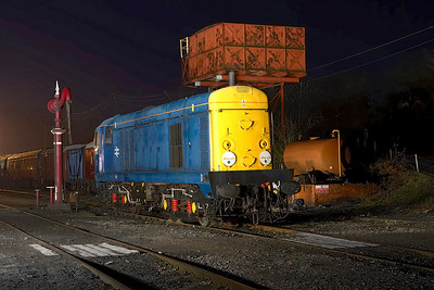 20001 masquerading as 20004 on shed at Butterley during an EMRPS Photo Charter on 03/02/2007.