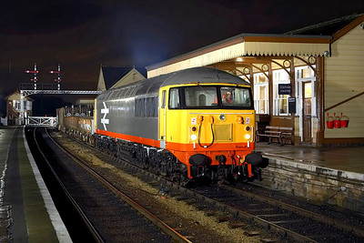 56098 stands at Wansford with a short PW train on 24/02/2007.