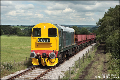 20154 makes another run up the 1 in 19 Foxfield bank on 13/07/2008.