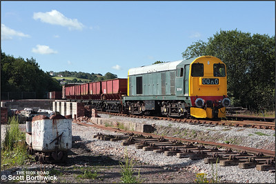 20154 awaits the off at Foxfield Colliery on 13/07/2008.