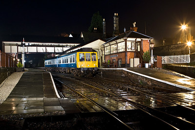 LO262 calls at Llangollen on 19/01/2008.