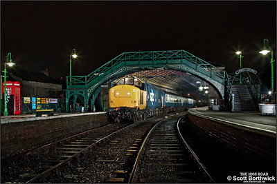 37264 awaits departure from Pickering on 17/03/2013.