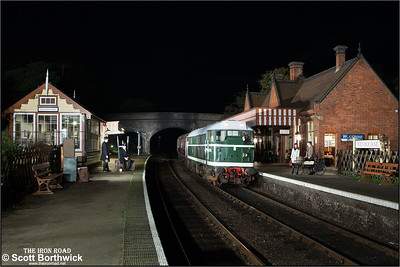 D5631 (31207) arrives at Weybourne on 08/11/2014.