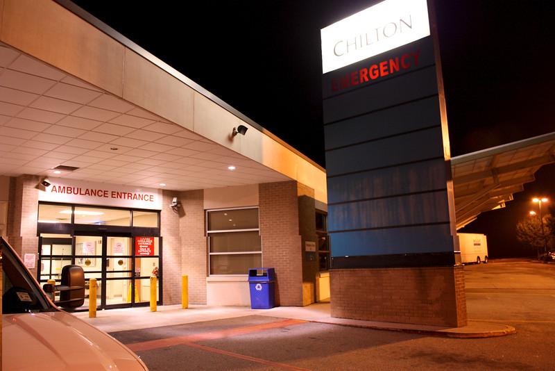 Chilton Hospital ER Bay.