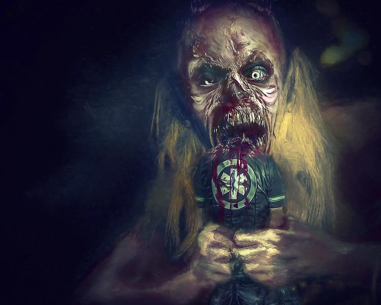 Demon Eats the Ambulance Driver