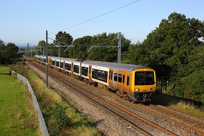 323212 leading 323219 working 2P15 0917 Bromsgrove to Lichfield Trent Valley climbing the Lickey on 14 September 2020  Class323, WMR