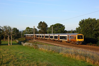 323242+323xxx working 2P09 0749 Bromsgrove to Lichfield Trent Valley at the Lickey incline on 14 September 2020  Class323, WMR