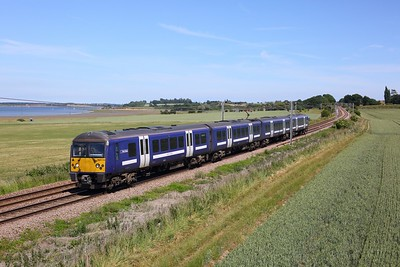 360119 working the 2A37 1428 Harwich Town to Manningtree at Bradfield near Mistley on Harwich line on 15 June 2020  GreaterAnglia, Class360