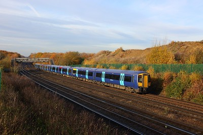 375628+375630 on the 1S26 0945 London Victoria to Ramsgate and Dover Priory at Swanley on the 19th November 2017