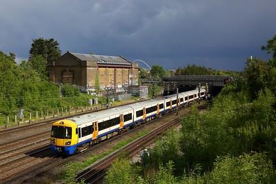 378212 heads south towards South Kenton on 2C45 1631 Watford Junction DC to London Euston on 5 June 2020  Class378, WCMLLondon, LondonOverground