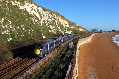 395004 at Shakespeare Cliff, Dover Priory on the 4th December 2015