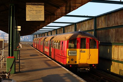 483006 working the 2D05 0649 Ryde Pier Head to Shanklin at Ryde Pier Head on 11 August 2020 1  Class483, SWR, Islandline