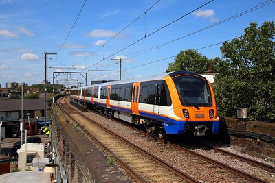 710261 on the 2J53 1250 Gospel Oak to Barking at Leyton Midland Road on the 8th August 2019