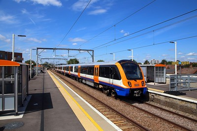 710261 on the 2J53 1250 Gospel Oak to Barking at Leyton Midland Road on the 8th August 2019 2