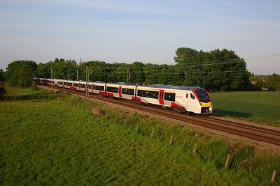 Greater Anglia 745004 on 1P59 1800 Norwich to London Liverpool Street at Kelvedon on 21 May 2020