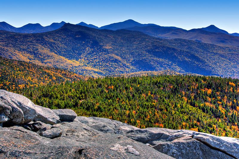 Cascade Peak summit view