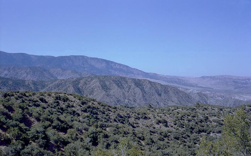 Snowy Creek trail view, 08/1983.