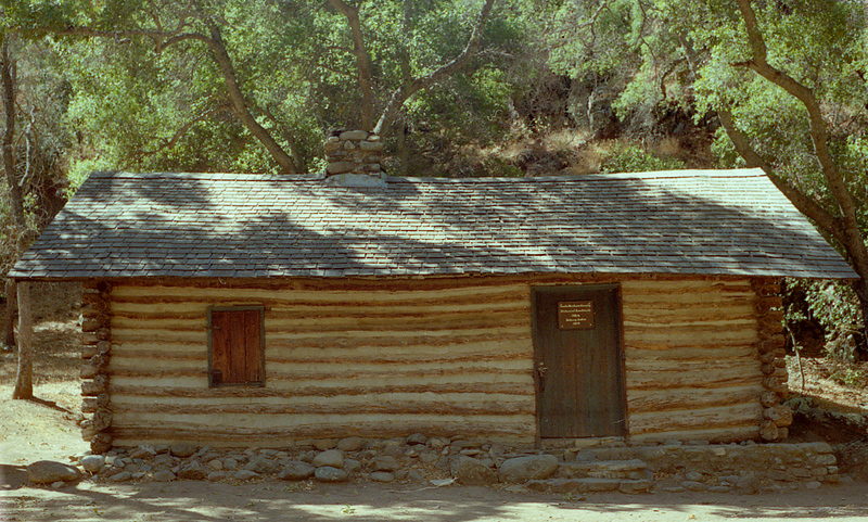 Dabny Cabin, Manzana Creek, April 1984. Until I saw this picture among some I found August, 2011 I had completely forgotten about Dabny Cabin. In fact, at first I thought this was Manzana Schoolhouse.
