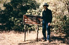 Getting near Ant Camp, Agua Blanca Creek, 01/1985