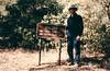 Getting near Ant Camp, Agua Blanca Creek, 01/1985