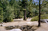 Seven Pines camp, Snowy Creek trail, 08/1983.