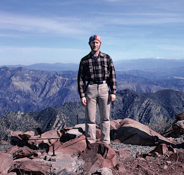 Santa Paula Peak, 04/1985