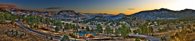 Morning, Estes Park, Colorado