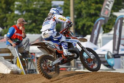 Noud van Kraaij is the best Dutch rider on 8th