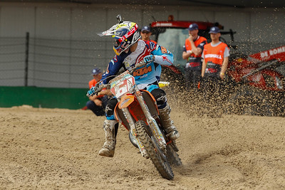 Jorge Prado Garcia takes the lead and checks who's next