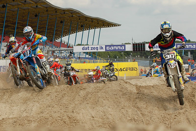Nick Horsten takes the holeshot