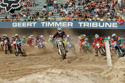 Start 1st moto EMX125 on Saturday