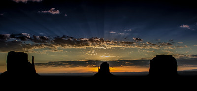 Sunrise at Monument Valley - Part II