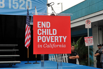 END CHILD POVERTY IN CALIFORNIA RALLY WAS HELD AT ST. JOHN'S MEDICAL CENTER IN LOS ANGELES ON SUNDAY APRIL 9, 2017 PHOTOS BY VALERIE GOODLOE
