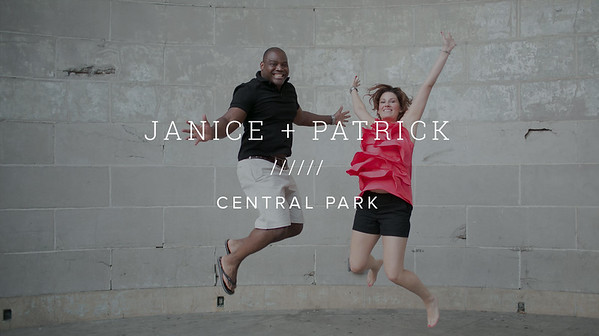 JANICE + PATRICK ////// CENTRAL PARK