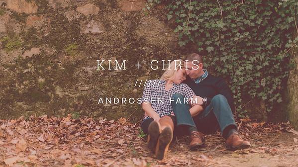 KIM + CHRIS ////// ANDROSSEN FARM