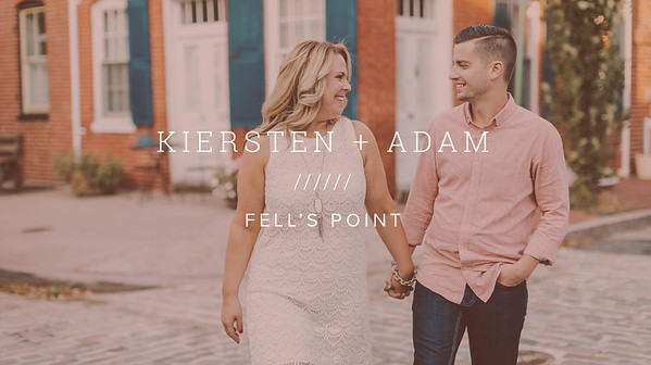 KIERSTEN + ADAM ////// FELL'S POINT