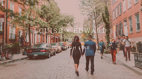 LOUISE + EDWARD ////// THE HIGH LINE