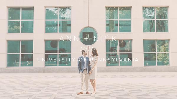 ANN + NICK ////// UNIVERSITY OF PENNSYLVANIA