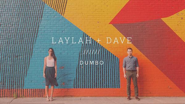 LAYLAH + DAVE ////// DUMBO
