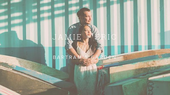 JAMIE + ERIC ////// BARTRAM'S GARDEN