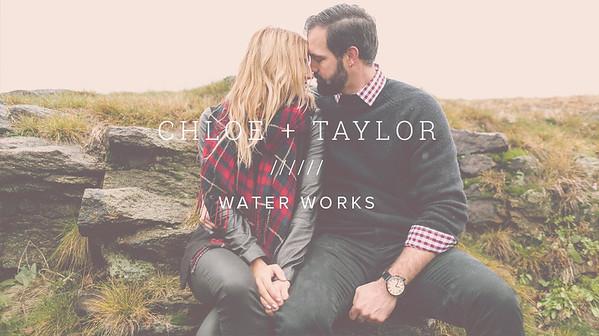 CHLOE + TAYLOR ////// WATER WORKS